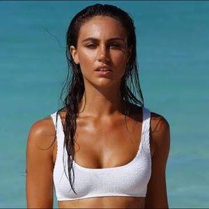 Bound by Bond-Eye Optic White MALIBU Bikini Top